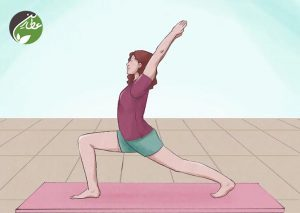 انجام تمرینات یوگا