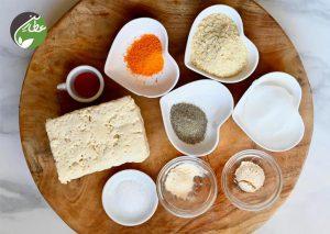 مواد لازم برای پنیر سویا