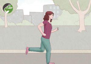 کاهش آدرنالین با پیاده روی