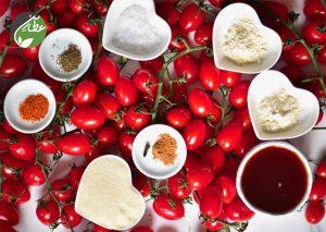 مواد لازم برای تهیه سس گوجه خانگی