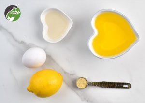 مواد لازم برای سس مایونز خانگی