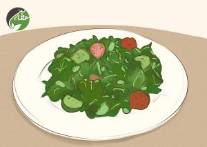 مصرف سبزیجات بدون قند