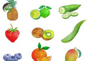 میوه های طبیعی