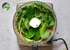 درست کردن چاشنی سبزیجات