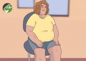 درمان چاقی پایین تنه