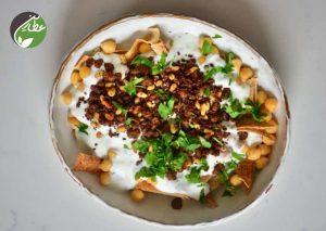 تهیه غذای لبنانی