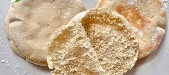 طرز تهیه نان خانگی پیتا