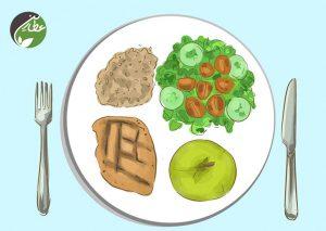 زندگی عاشقانه با تغذیه سالم