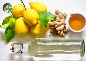 طرز تهیه لیموناد زنجبیل