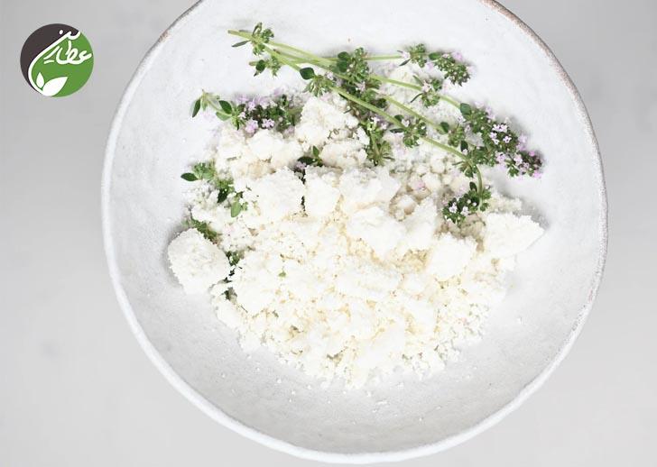 مصرف پنیر بز خانگی