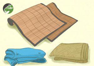 استفاده از ملافه سبک برای راحت خوابیدن