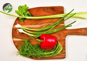 سبزیجات لازم برای تهیه سالاد