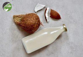 شیر نارگیل خانگی