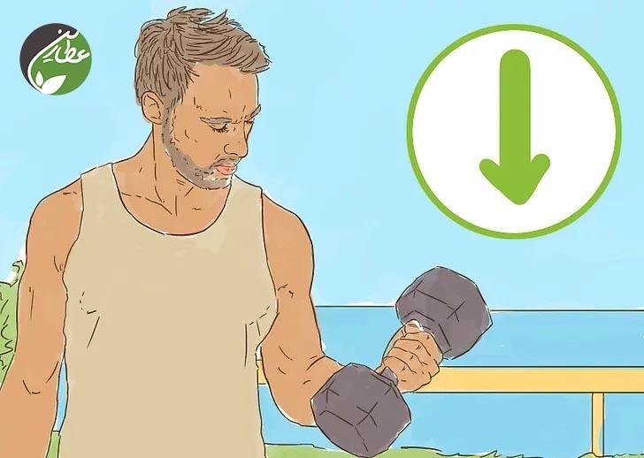 کاهش ورزش