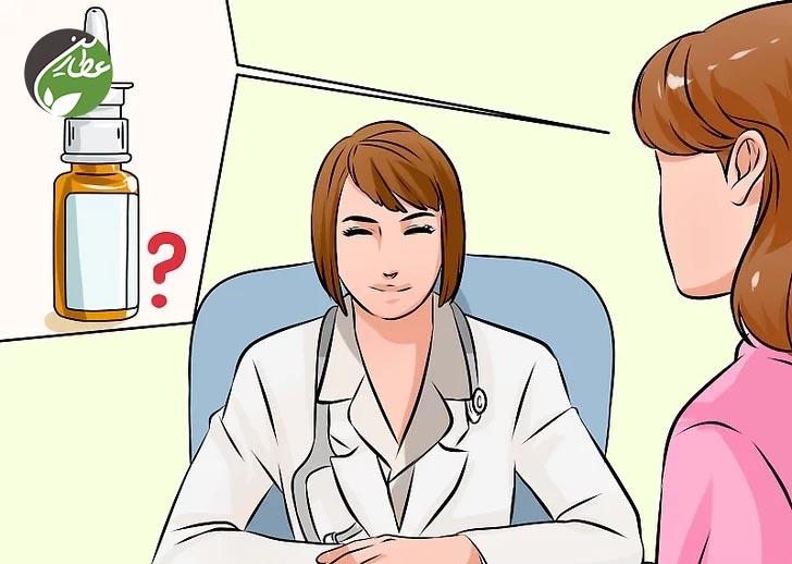 مراجعه به پزشک برای درمان احتقان گوش