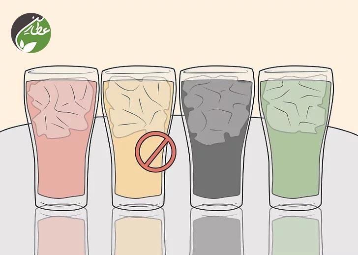 عدم مصرف نوشیدنی شیرین