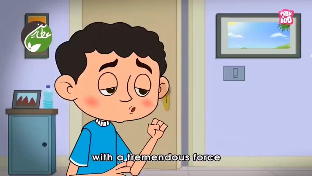 انیمیشن آموزشی کودکان – چرا سرفه می کنیم؟