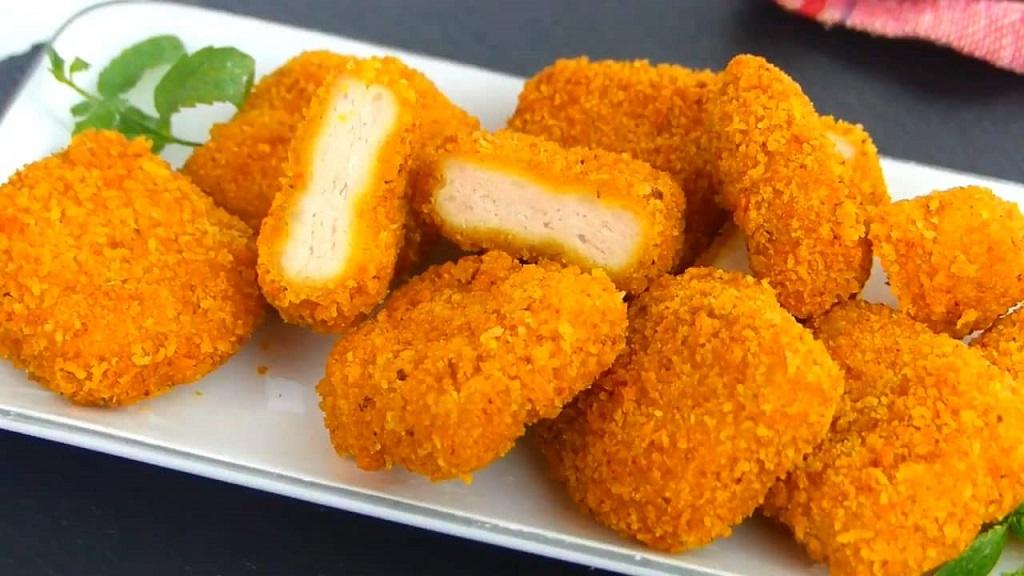طرز تهیه ناگت مرغ بازاری در خانه