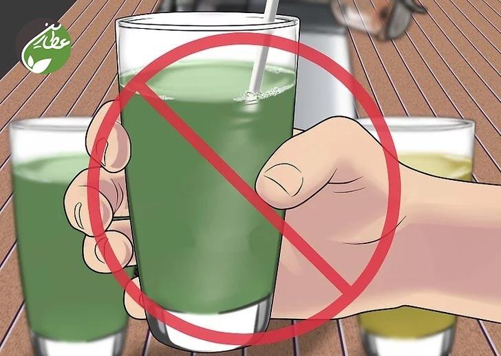 پرهیز از مصرف مواد غذایی با هضم آسان