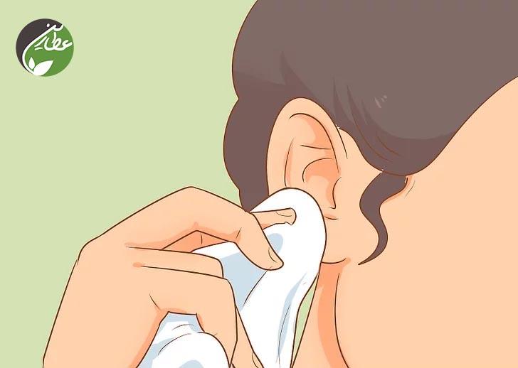 خشک کردن گوش