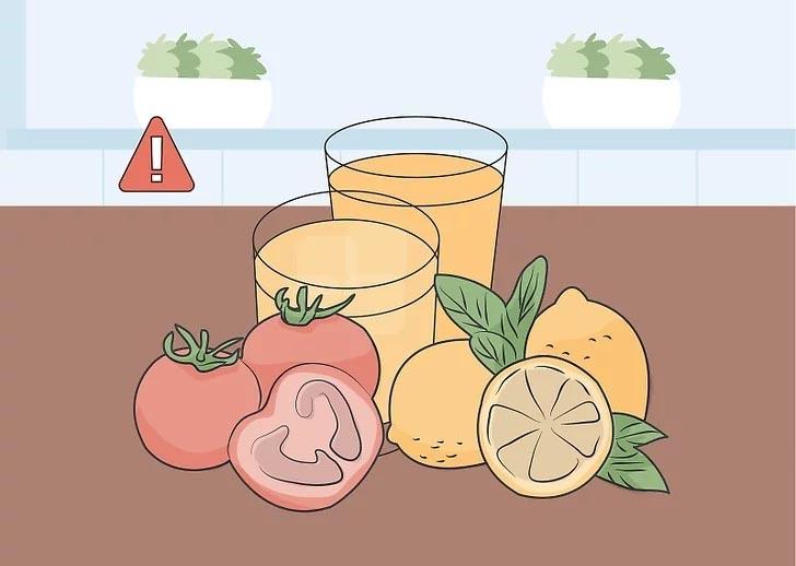 کاهش اسید دهان و دندان با رژیم غذایی