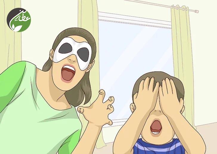 ترس کودک را مسخره نکنید