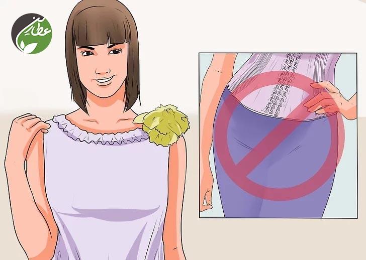 کاهش فشار روی شکم