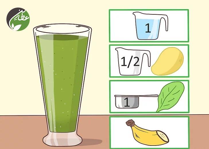 کاهش قند خون با اسموتی سبز