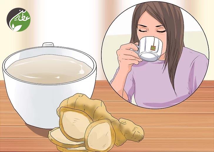 کاهش درد فتق با چای گیاهی